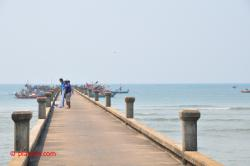 The fishing pier.